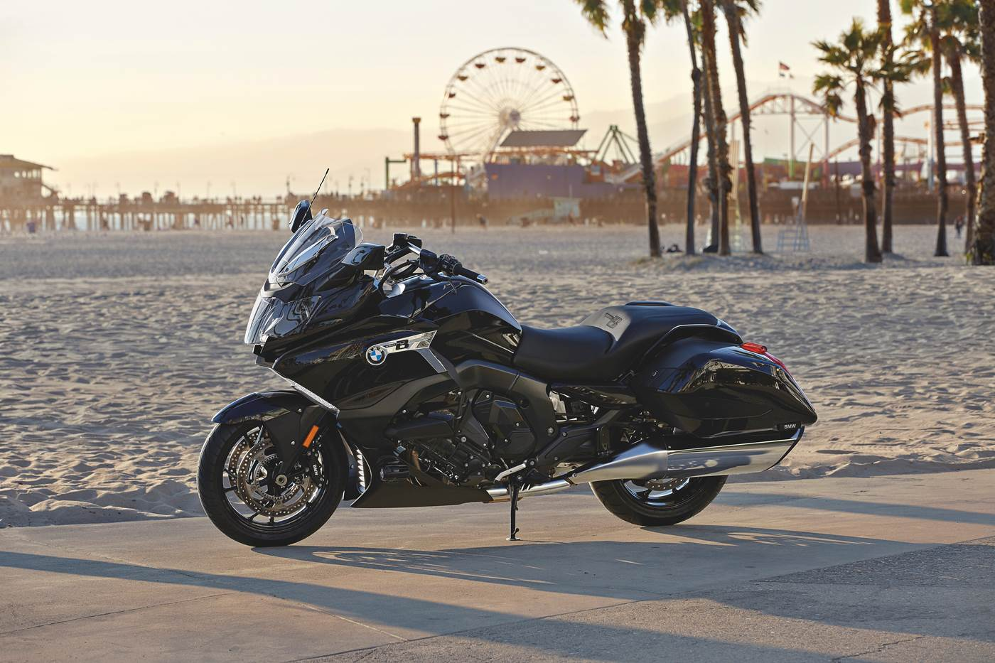 BMW K 1600 Bagger, torning mc