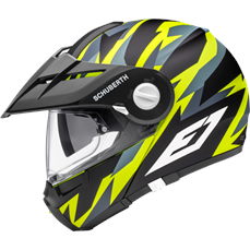 Schuberth E1 Rival Yellow